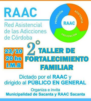 Evento Red asistencial de las adicciones Córdoba